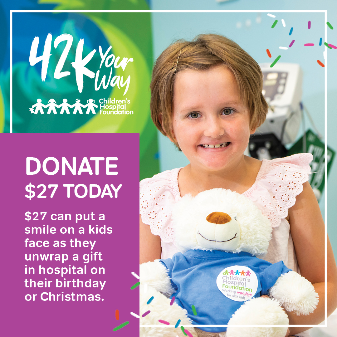 Donate $27 for children to get presents