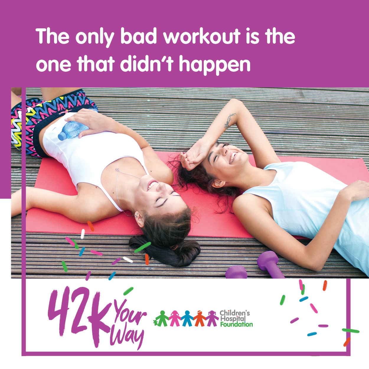42k Your Way - The only bad workout