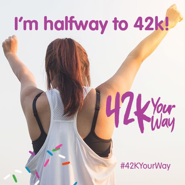 42k Your Way - I'm Halfway