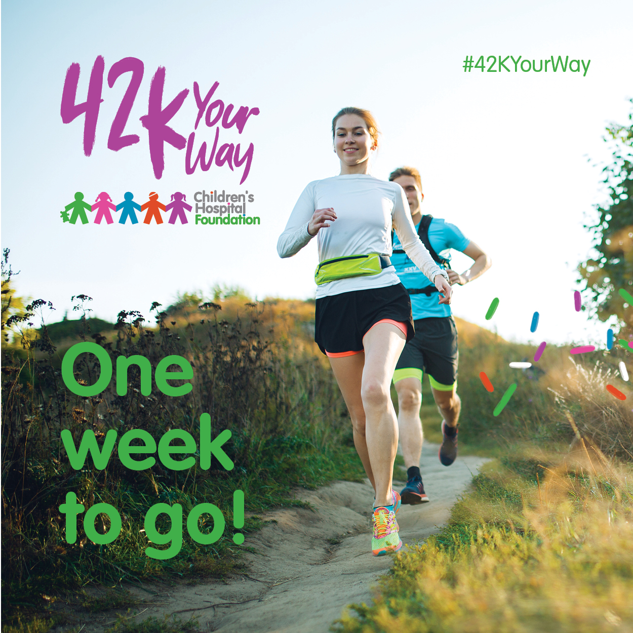 42k Your Way - One Week to Go