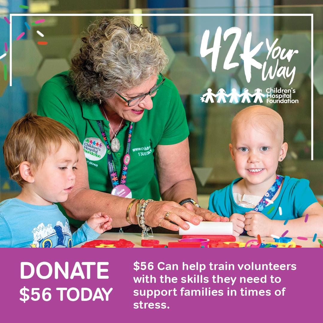 Donate $56 to help train volunteers