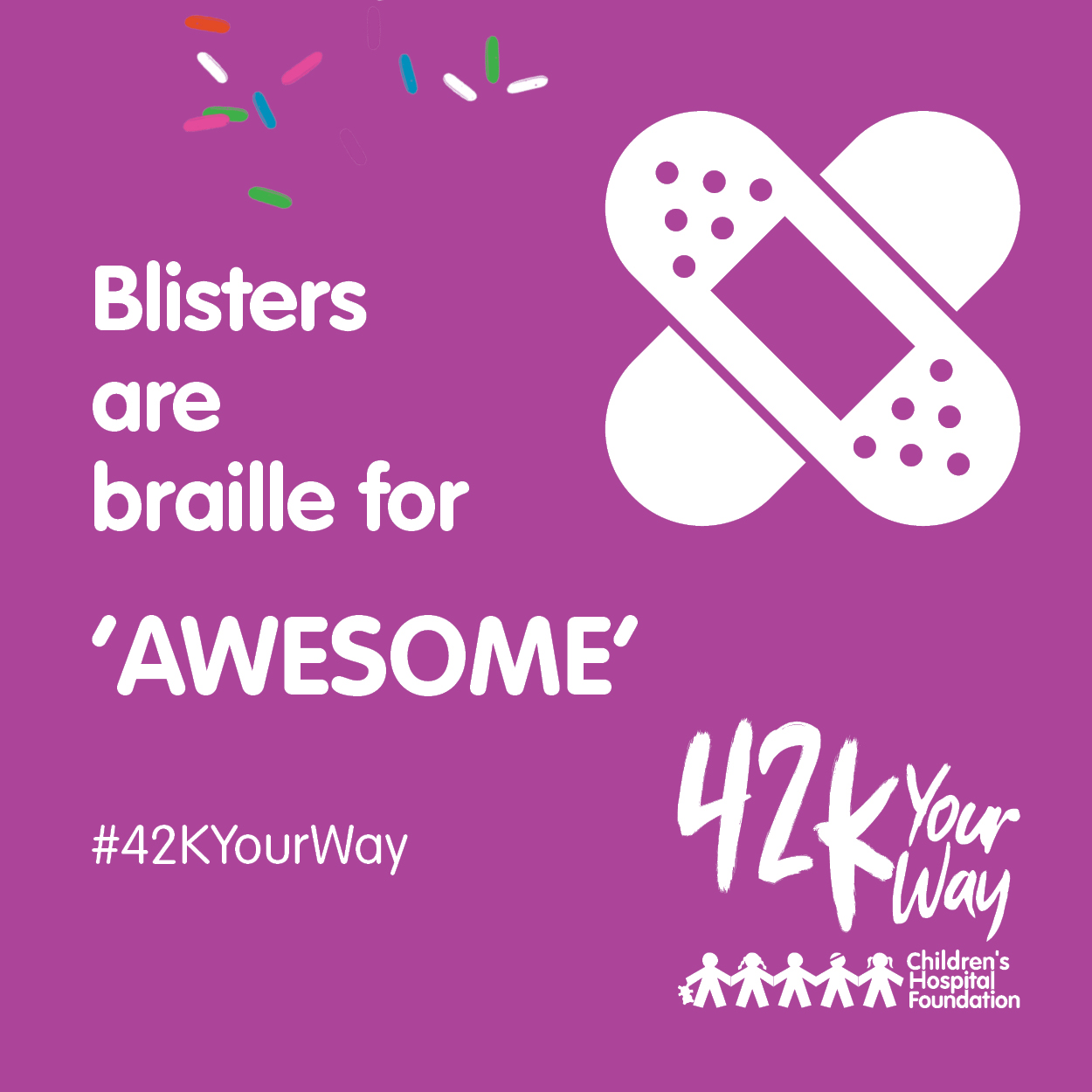 42k Your Way - Blisters