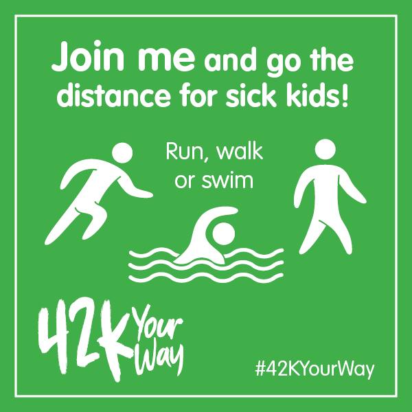 42k Your Way - Run, Walk.....