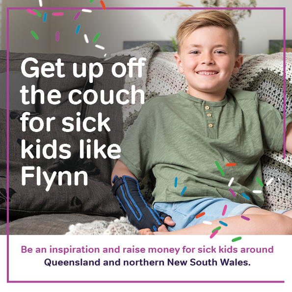 Get up off of the couch for Flynn Poster